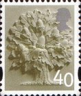 [Country Definitives - English Oak Tree, type C2]