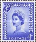 [Definitive Issue - Queen Elizabeth, New Value, Typ A2]