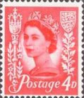[Definitive Issue - Queen Elizabeth, New Color, Typ A6]