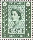 [Queen Elizabeth II - New Values. 2-Band Phosphor, Typ B1]
