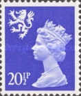 [Queen Elizabeth II - New Values, type D27]