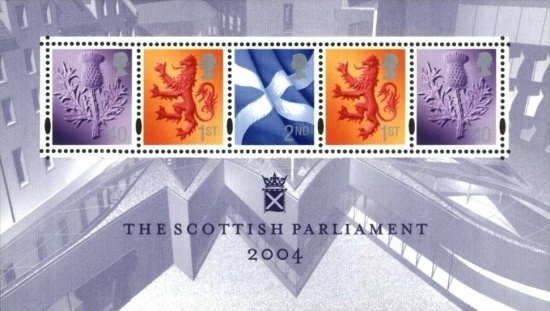 [Opening of The Scottosh Parliament, type I]