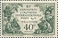 [International Colonial Exhibition - Paris, France, type AA]