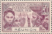 [International Colonial Exhibition - Paris, France, type AB]