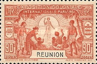 [International Colonial Exhibition - Paris, France, type AC]