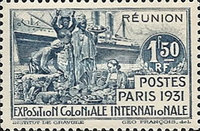 [International Colonial Exhibition - Paris, France, type AD]