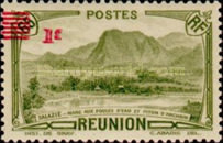 [Tourism Stamp of 1933 Surcharged - Mountain Landscape, type BF]