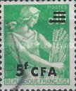 [Stamps of France Surcharged, type DA1]