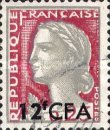 [Stamps of France Surcharged, type DA4]