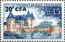 [Stamps of France Surcharged, type DG2]