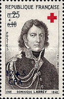 [Red Cross - Stamps of France Overprinted CFA and Surcharged, type DN1]