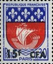 [Stamps of France Surcharged, type DO]