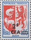 [Stamps of France Surcharged, type DY]