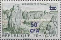 [Stamp of France Surcharged, type EB]