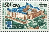 [Stamps of France Surcharged, type EX]