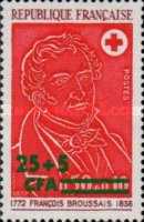 [Red Cross - Stamp of France Surcharged, type FD1]