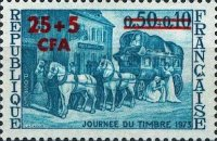 [Day of the Stamp - Stamp of France Surcharged, type FE]
