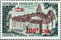 [Stamp of France Surcharged, type FH]