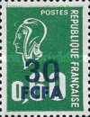[Marianne - Stamps of France Surcharged, type FP]