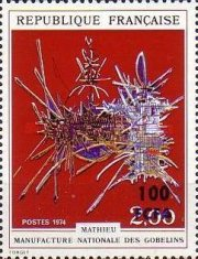 [Art - Stamps of France Surcharged, type FS]