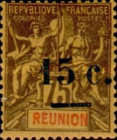 [Stamps of 1892 Surcharged, type J2]