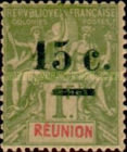 [Stamps of 1892 Surcharged, type J3]