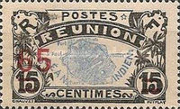 [Stamps of 1907-1917 Surcharged, type T3]