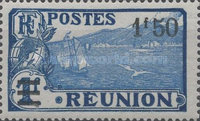 [Issue of 1922 & Not Issued Stamps Surcharged, type U2]