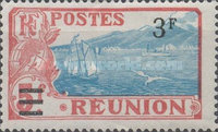 [Issue of 1922 & Not Issued Stamps Surcharged, type U3]
