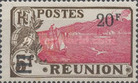[Issue of 1922 & Not Issued Stamps Surcharged, type U5]