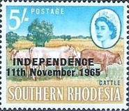 [Issues of South Rhodesia Overprinted