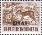 [Indonesia Postage Stamps of 1956-58 Overprinted