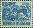 [Indonesia Postage stamps Overprinted, type D]