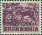 [Indonesia Postage stamps Overprinted, Typ D2]