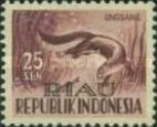 [Indonesia Postage stamps Overprinted, Typ D4]