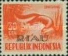 [Indonesia Postage stamps Overprinted, Typ D5]