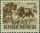 [Indonesia Postage stamps Overprinted, Typ D6]