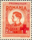 [King Michael of Romania, Prisoner of War Stamps - Postal Tax Stamps of 1943-1944 Overprinted, type D]