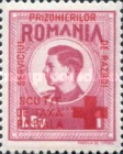[King Michael of Romania, Prisoner of War Stamps - Postal Tax Stamps of 1943-1944 Overprinted, type D1]