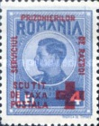 [King Michael of Romania, Prisoner of War Stamps - Postal Tax Stamps of 1943-1944 Overprinted, type D3]