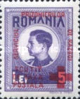 [King Michael of Romania, Prisoner of War Stamps - Postal Tax Stamps of 1943-1944 Overprinted, type D4]