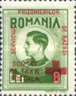 [King Michael of Romania, Prisoner of War Stamps - Postal Tax Stamps of 1943-1944 Overprinted, type D5]