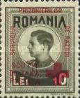 [King Michael of Romania, Prisoner of War Stamps - Postal Tax Stamps of 1943-1944 Overprinted, type D6]