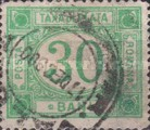 [Numeral Stamps - Watermarked, type F3]