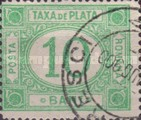 [Numeral Stamps - Rose Backside, type G2]