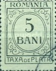[Numeral Stamps - Greenish Paper, type S16]