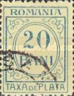 [Numeral Stamps - Greenish Paper - Inscription