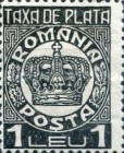 [Postage Stamps of 1909-1914 Overprinted, type U14]