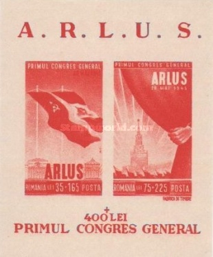 [The First Congress of the Romanian Society for Friendship with the Soviet Union ARLUS, type ]