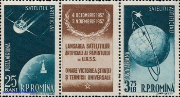 [Airmail - The First Soviet Satellites, type ]